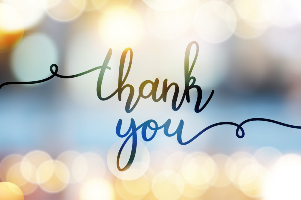 "HOW THE WORDS ""THANK YOU"" HELP BUILD A POSITIVE WORK CULTURE - Harris  Whitesell Consulting, LLC"